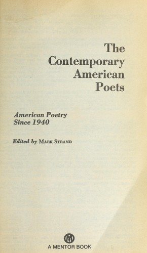 Download The contemporary American poets