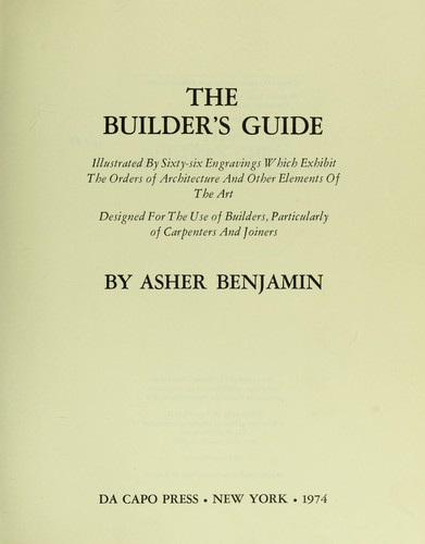 Download The builder's guide