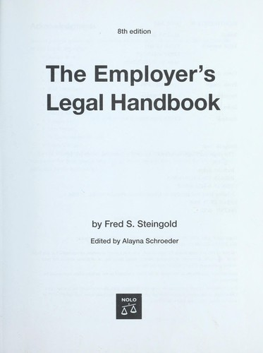 Download The employer's legal handbook