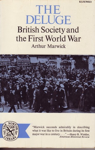 Deluge British Society and the First World War