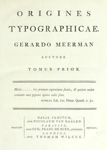 Download Origines typographicae.