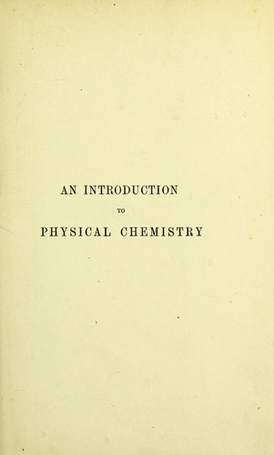 Download Introduction to physical chemistry