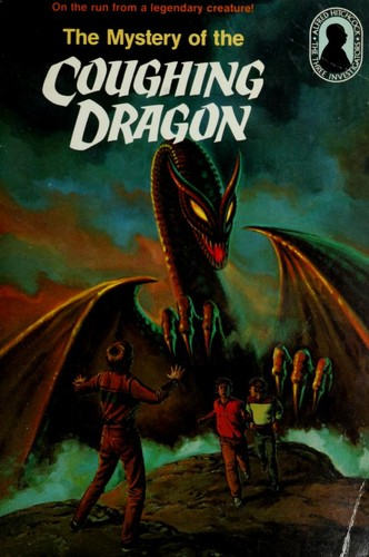 Alfred Hitchcock and the three investigators in The mystery of the coughing dragon.