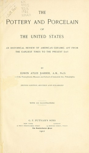 Download The pottery and porcelain of the United States