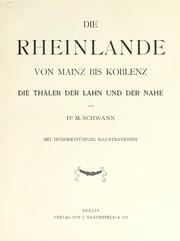 Die Rheinlande von Mainz bis Koblenz