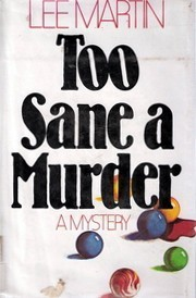 Download Too Sane A Murder