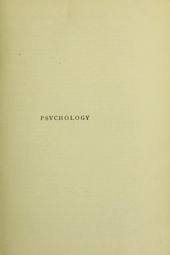 Download Psychology: empirical and rational.