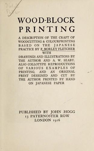 Download Wood-block printing