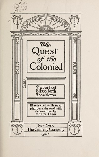 Download The quest of the colonial