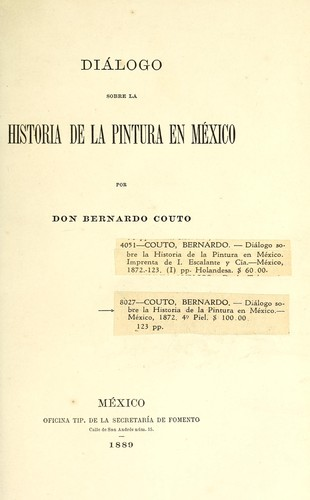 Download Diálogo sobre la historia de la pintura en México