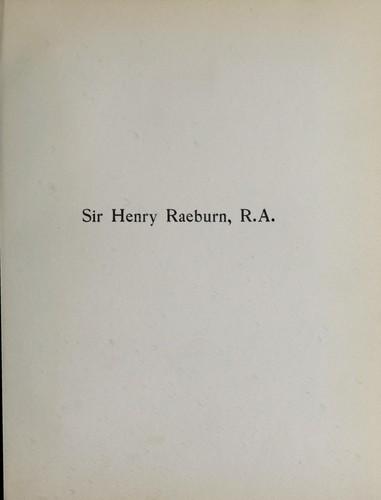 Sir Henry Raeburn, R.A.