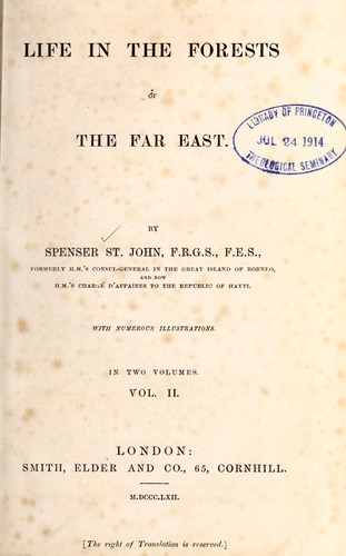 Download Life in the forests of the Far East.