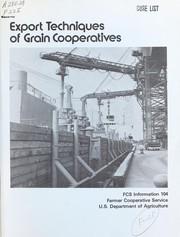 Export techniques of grain cooperatives