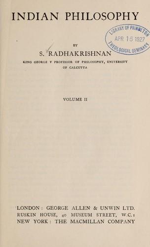 Download Indian philosophy.