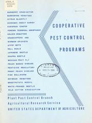Cooperative pest control programs.