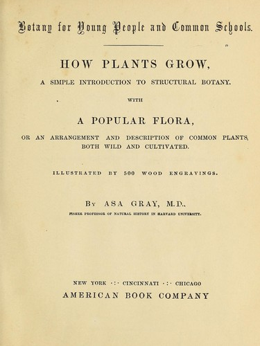 Botany for young people and common schools