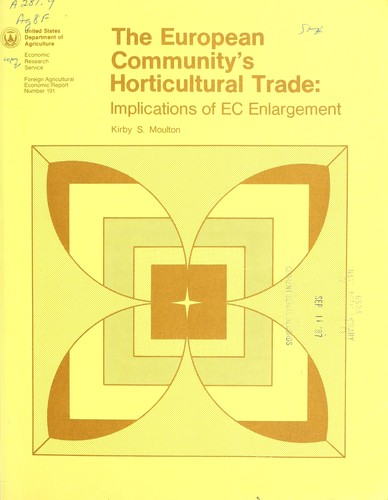 Download The European Community's horticultural trade