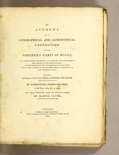 Download An account of a geographical and astronomical expedition to the northern parts of Russia
