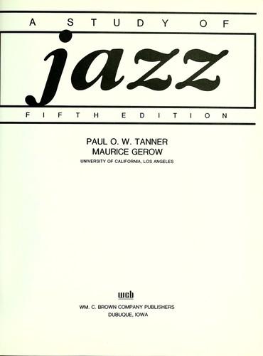 A study of jazz