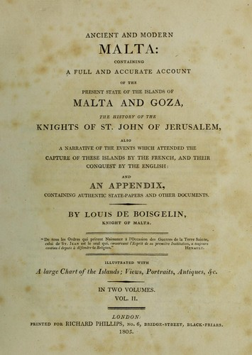 Download Ancient and modern Malta