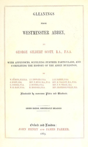 Download Gleanings from Westminster Abbey