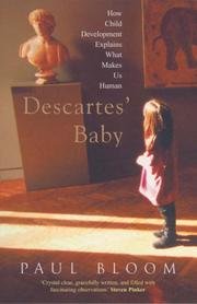 Descartes' Baby by Paul Bloom