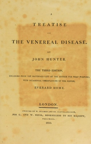 Download A treatise on the venereal disease