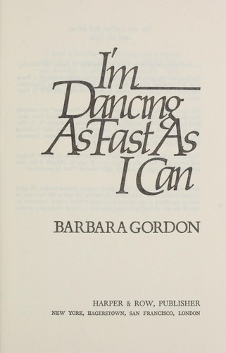 Download I'm dancing as fast as I can