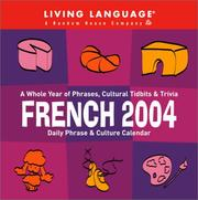 French Daily Phrase and Culture Calendar 2004 (LL(R) Daily Phrase Calendars) PDF