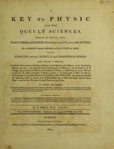Download A key to physic and the occult sciences.