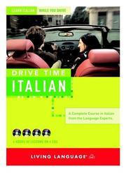 Drive Time: Italian (CD): Learn Italian While You Drive (LL(R) All-Audio Courses) PDF