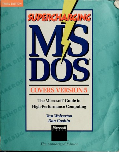 Download Supercharging MS-DOS