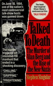 Cover of: Talked to death | Stephen Singular