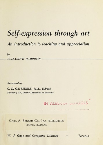 Self-expression through art