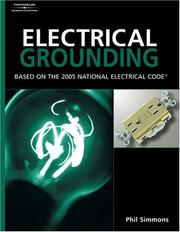 Electrical grounding and bonding by J. Philip Simmons