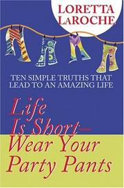 Life is short - wear your party pants PDF
