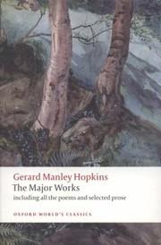 Gerard Manley Hopkins The Major Works