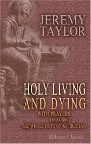 HOLY LIVING AND DYING PDF
