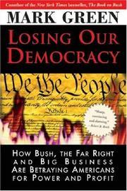Losing Our Democracy PDF