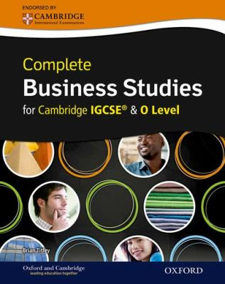 Ebook Complete Business Studies For Cambridge Igcse And O Level