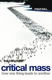 Cover of: Critical Mass by Philip Ball