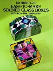 Easytomake Stained Glass Boxes With Fullsize Templates