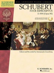 Four Impromptus D 899 Opus 90