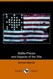 Battle-pieces and aspects of the war PDF