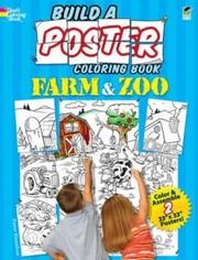 Build A Poster Coloring Book Farm Zoo