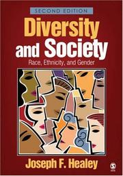 Diversity and society by Joseph F. Healey