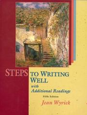 Steps to Writing Well with Readings (with MLA Updates) PDF