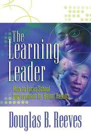 The learning leader by Douglas B. Reeves