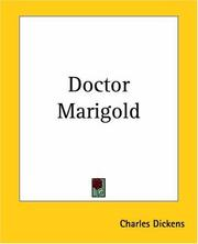 Cover of: Doctor Marigold by Charles Dickens