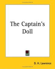 Cover of: The captain's doll by D. H. Lawrence
